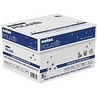 Boise Polaris Premium Multipurpose Paper, 8.5 X 11-Inches,  97  Bright White , 20 lb 5000 Sheets/Carton