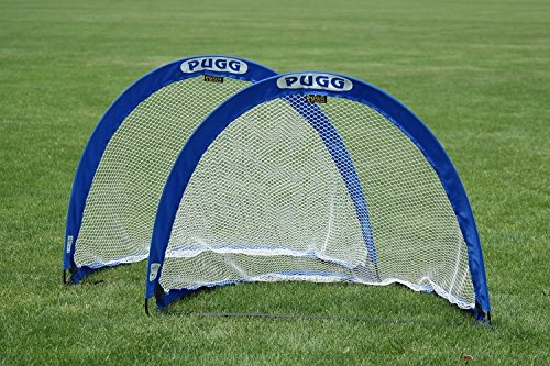 PUGG 4 Foot Portable Training Goal Set. (Two Goals & a Bag)