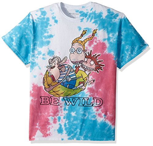 Wild Tie Dye - Nickelodeon Men's The Wild Thornberrys Short Sleeve Graphic T-Shirt, Tie Dye Wild, Large