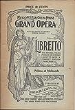 img - for Libretto: Pelleas and Melisande (Metropolitan Opera House Grand Opera) book / textbook / text book