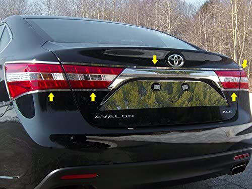 QAA fits 2013-2018 Toyota Avalon 5 Piece Stainless Tail Light Ring ...