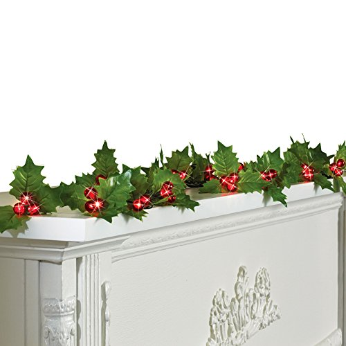 Holly Berry Garland - 7