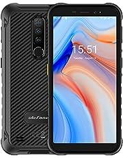 Rugged Phones, Ulefone Armor X8 mobilephone, 4GB + 64GB Octa-core Smartphone, IP68/IP69K, 5.7 inch Screen, 13MP+2MP+2MP Rear Camera, 5080mAh Battery, Fingerprint + Face ID, Dual Sim Dual Standby, NFC - Black
