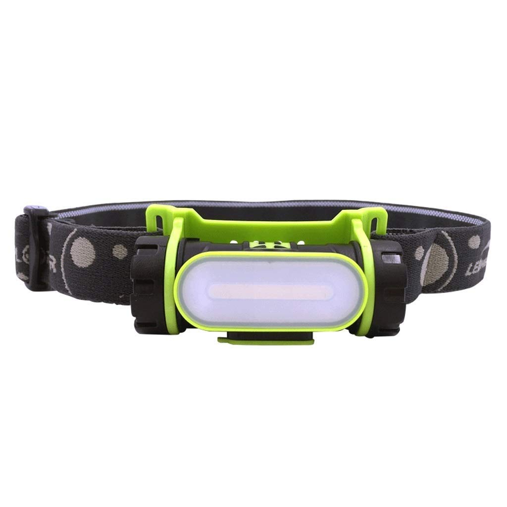 QAZWS Bright LED Headlamp - 160 Lumens, White LEDs, Adjustable Strap, Water Resistant. Great for Running, Camping, Hiking & More. Batteries Included