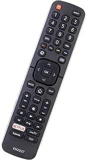 Mando a distancia Smart TV EN2A27 para Hisense TV, mando a distancia universal de repuesto para Hisense EN2A27: Amazon.es: Electrónica