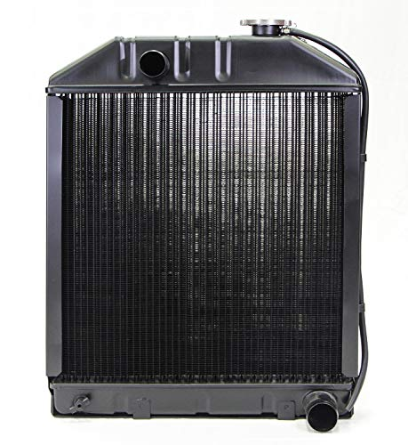 NEW Replacement Radiator w/Cap For Ford Tractor 5000 5100 5600 6600 C7NN8005 C7NN8005L C7NN805E (24075AM) (5000 Ford Tractor)