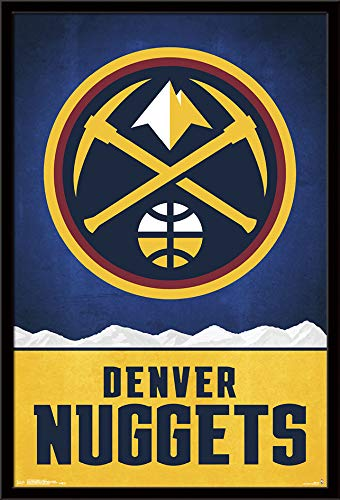 Trends International Denver Nuggets - Logo Wall Poster 24.25
