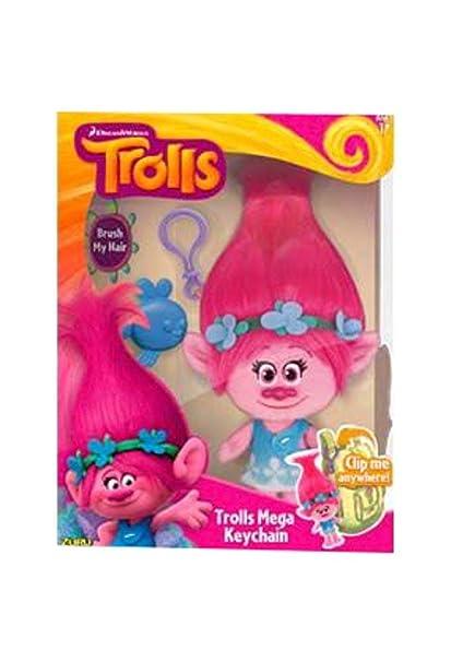 Amazon.com: Trolls Mega llavero, 1 talla, Multicolor: Toys ...