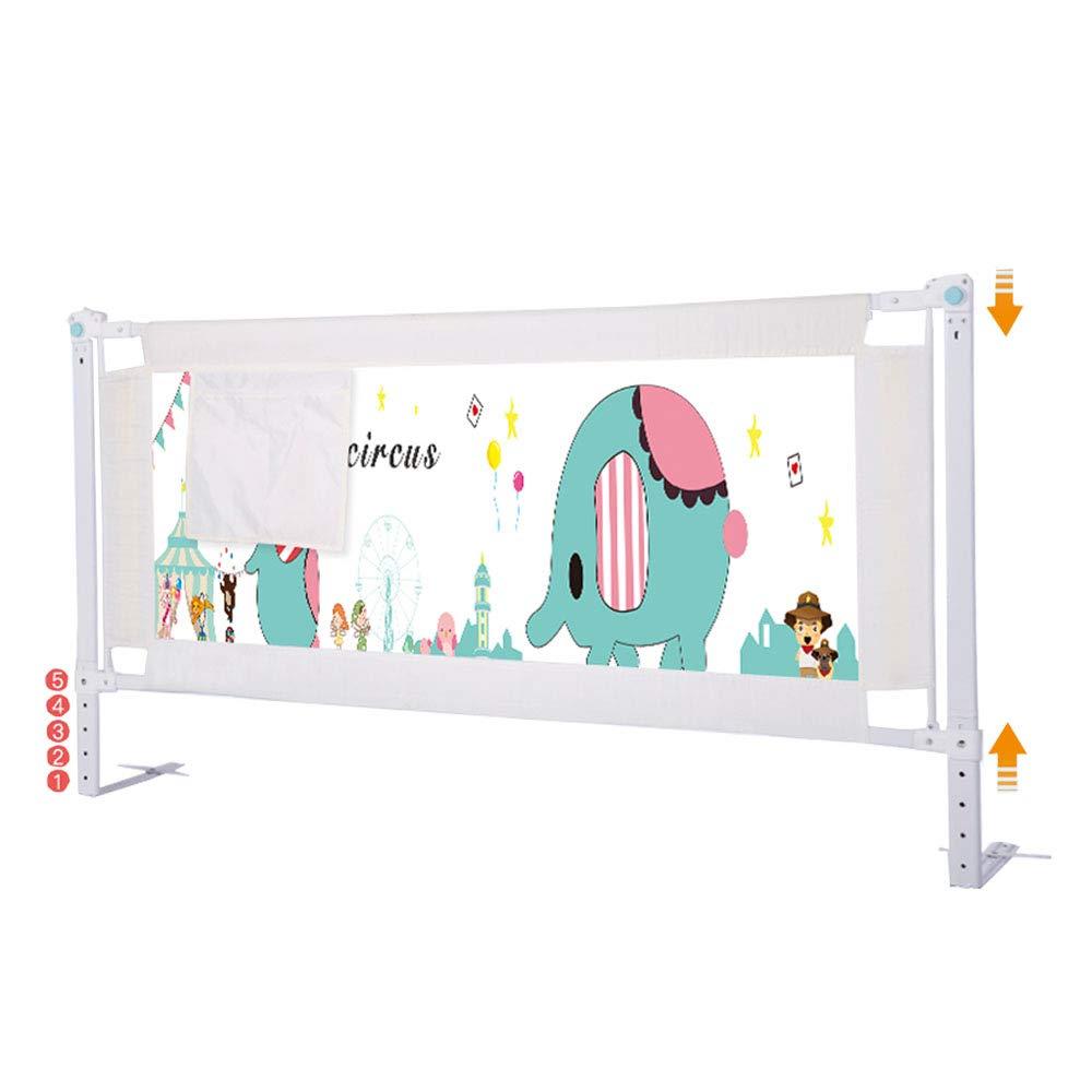 安全性と安心感を提供する子供のためのエクストラロングベッドレールガード、垂直昇降をサポートするガードレール(安全高さ6682cm) 180cm(70.9 inch)  B07QX8C162