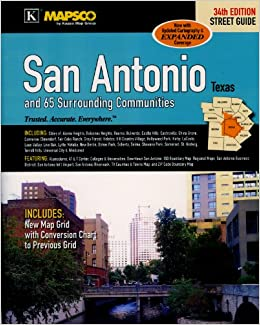 MAPSCO San Antonio and 65 Surrounding Communities Street Atlas: MAPSCO: 9780762583058: Amazon.com: Books