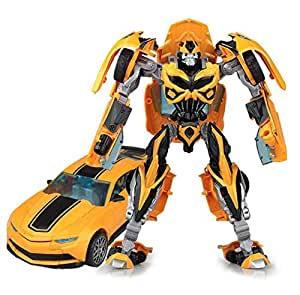 zy Transformers: Age of Extinction alloy Bumblebee Chevrolet Camaro Action Figure model toys Transformers Robot Model children toys gift
