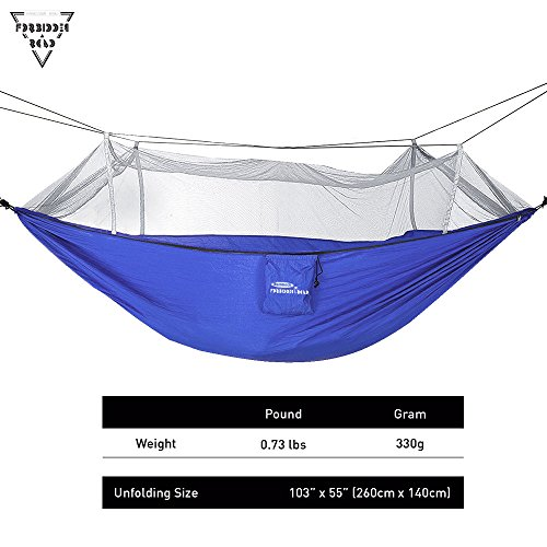 Forbidden Road Hammock Single Double Mosquito Net Camping Import