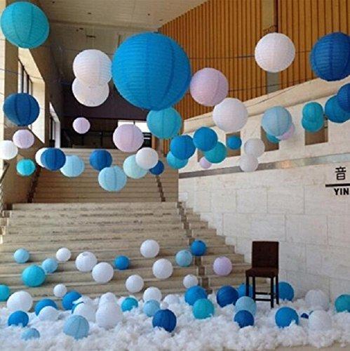 Amazon.com: sopeace 6pcs azul real + Baby Azul + color ...