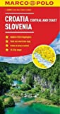 Croatia/Slovenia Marco Polo Map (Marco Polo Maps)
