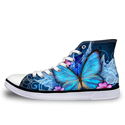 butterfly pretty Donna Alto Collo 1 Coloranimal A RqXxB