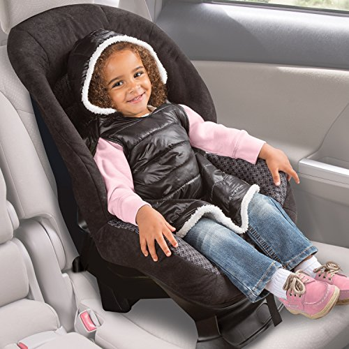 summer infant car seat coat and poncho sherpa puffer baby toddler baby transport accessories. Black Bedroom Furniture Sets. Home Design Ideas