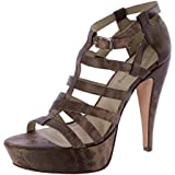 Elizabeth and James Women's Manic Gladiator Platform Sandals