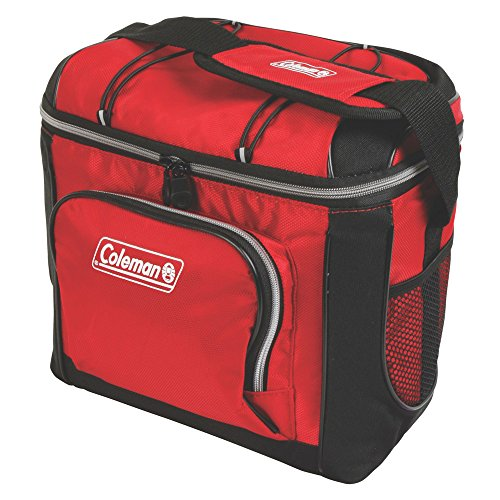 (Coleman 3000001315 Cooler Soft 16 Can Red W/Liner)