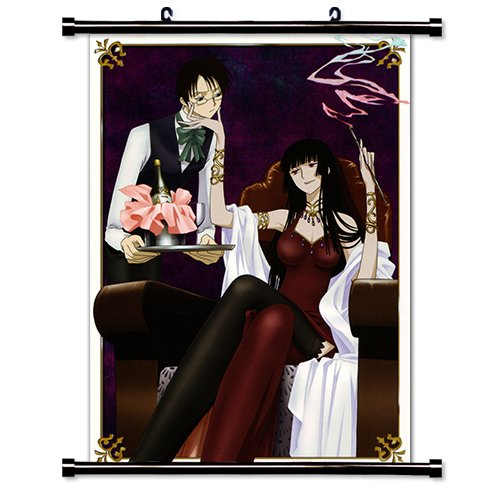 XxxHolic Anime Fabric Wall Scroll Poster  Inches -XxxHolic-1