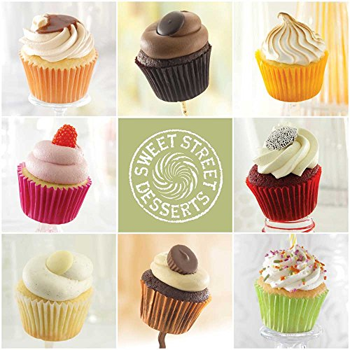 Sweet Street EZ8 Assorted Iced Cupcake Variety, 0.6 Pound -