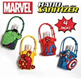 Official Marvel Hand Sanitizer with Aloe (4, Combo Pack)
