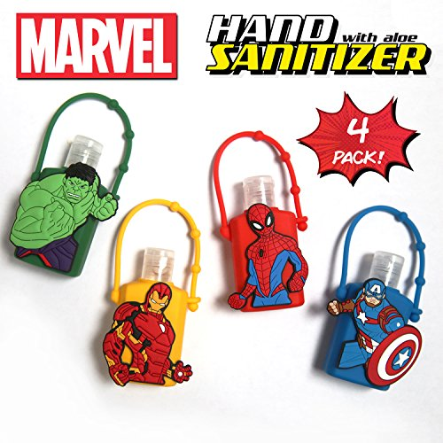 Official Marvel Hand Sanitizer with Aloe