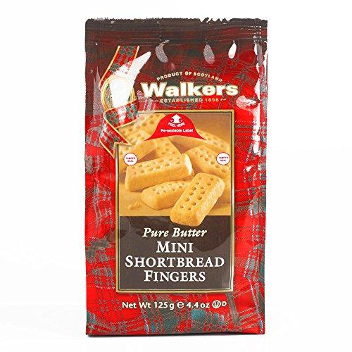 Walkers Mini Shortbread Fingers 4.4 oz each (1 Item Per Order, not per case)