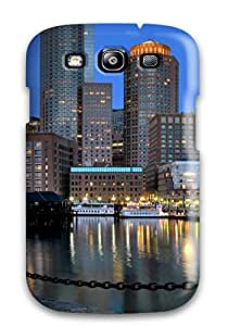 Awesome City Flip Case With Fashion Design For Galaxy S3