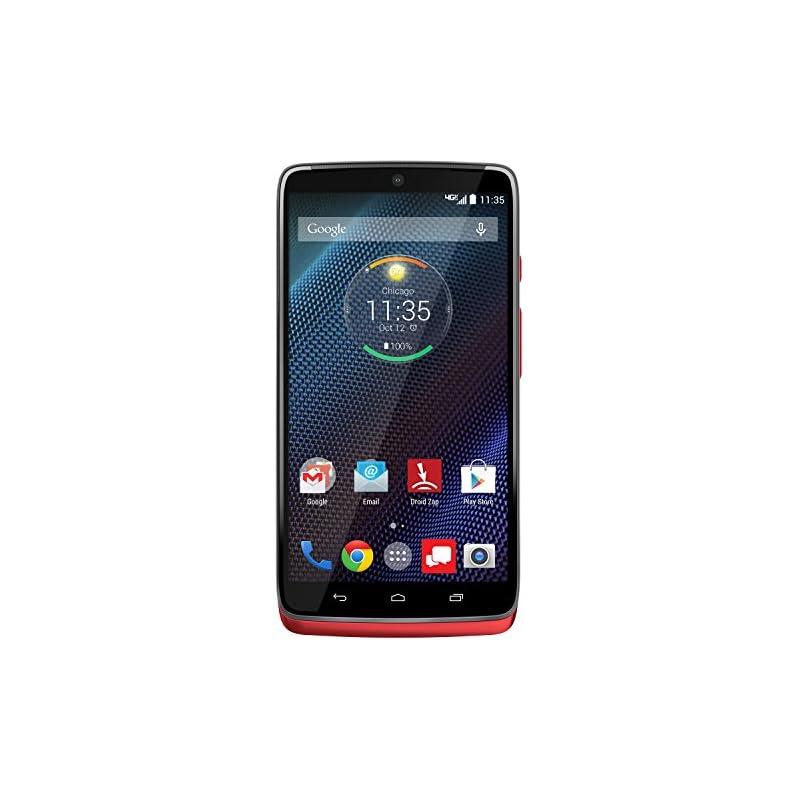 Motorola DROID Turbo, Metallic Red 32GB