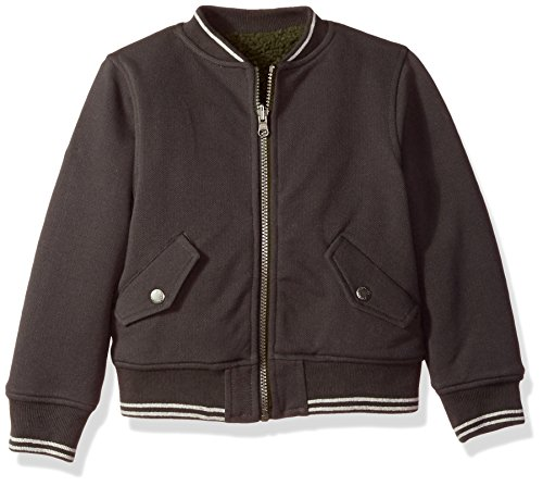 Boys Reversible Bomber - Joules Little Boys' Kenickie Reversible Bomber, Dark Grey, 6