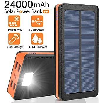 Amazon.com: Tranmix Solar Charger 25000mAh Portable Power ...