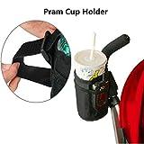 Bazaar Stroller Buggy Bottle Bag Waterproof Keep Warm Mug Vacuum Cup Insulated Straw Accessory