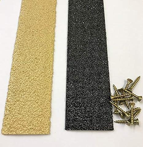 Marron Lot de 20/1000/mm antid/érapante pour terrasse Bandes Bandes de terrasse en bois 50/mm de largeur 50/mm x 1000/mm