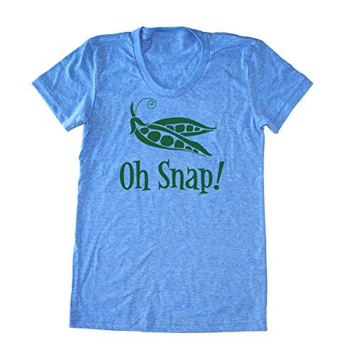 - Women's Oh Snap T-shirt - Funny Vegan Shirt