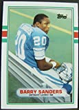 Barry Sanders 1989 Topps Traded rookie card in MINT CONDITION