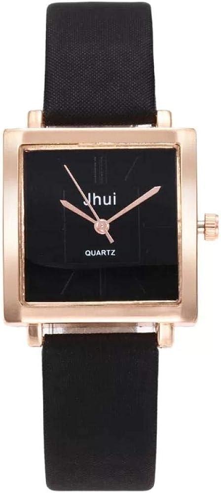 Reloj Simple Roman Forum Student Watch Mujer Reloj De Cuarzo Negro