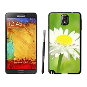 New Beautiful Custom Designed Cover Case For Samsung Galaxy Note 3 N900A N900V N900P N900T With Pure Daisy Flower Macro Phone Case