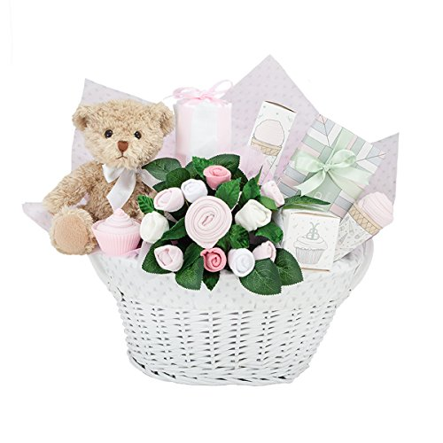 Berie's new baby girl gift basket