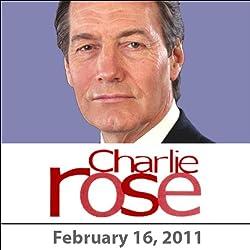 Charlie Rose: Silvio Berlusconi, Brian Ross, Peter Lattman, and James Taylor, February 16, 2011