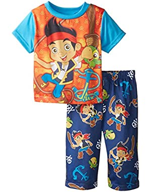 Disney Baby Boys' Jake Neverland Pirate Anchors Aways Pajama Set