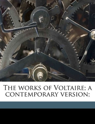 Download The works of Voltaire; a contemporary version; Volume 20 pdf epub