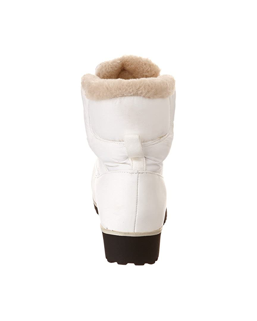 Arctic Plunge Women's Clyptica Boot, (White-Tan), 10: Amazon.co.uk: Shoes &  Bags
