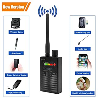 【Newest Version】 Dooreemee Anti Spy RF Signal Detector Bug Detector GPS Tracker Wireless Camera Amplification Ultra-high Sensitivity GSM Device Finder Handheld