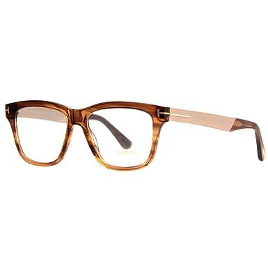 5a7cdd2940d TOM FORD Men s Eyeglasses 54 Shiny Dark Brown at Amazon Men s Clothing store