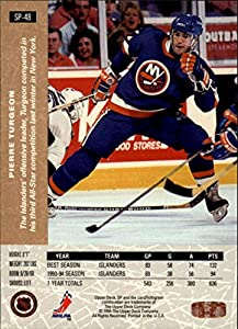 1994-95 Upper Deck SP Inserts New York Islanders Team Set 7 Cards Pierre Turgeon