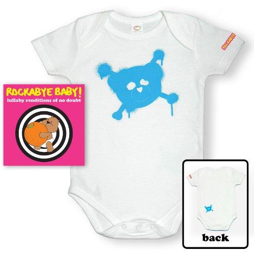 Rockabye Baby! Lullaby Renditions of No Doubt + Organic Baby Bodysuit (Gwen Stefani Halloween)