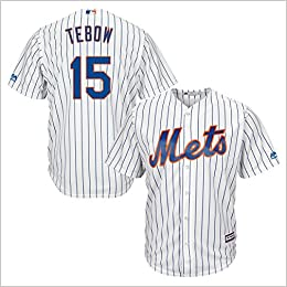 buy popular 2be99 4f15b Amazon.com: New York Mets Tim Tebow Majestic MLB Men Cool ...
