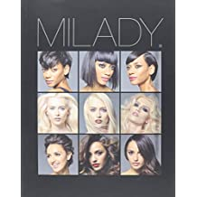 Milady Standard Cosmetology 13th edition + Practical workbook + Exam Review + Theory Workbook: Milady Standard Cosmetology 2016 Bundle