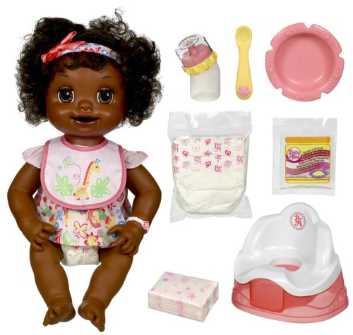 Used, Hasbro Baby Alive African American Learns To Potty for sale  Delivered anywhere in USA