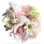 Barely-Pink-White-Ranunculus-Daisy-and-Rose-Small-BouquetBride-Bridesmaid-85-inches-tall